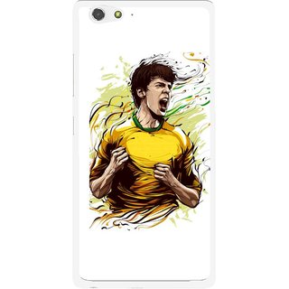 Snooky Printed I Win Mobile Back Cover For Gionee Elife S6 - Multi