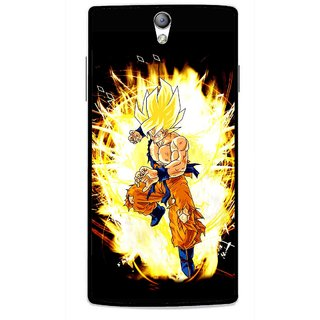 Snooky Printed Angry Man Mobile Back Cover For Oppo Find 5 Mini - Black
