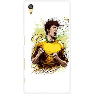Snooky Printed I Win Mobile Back Cover For Sony Xperia Z5 Plus - Multi