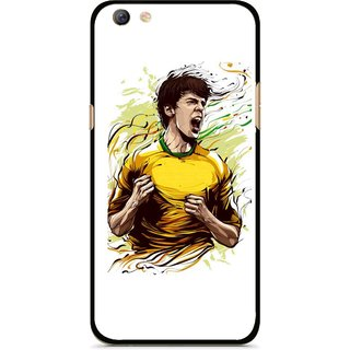 Snooky Printed I Win Mobile Back Cover For Oppo F3 plus - Multi