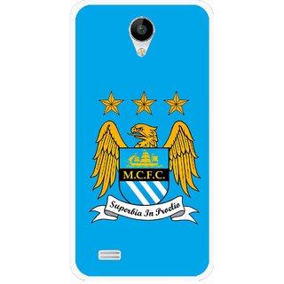 Snooky Printed Eagle Logo Mobile Back Cover For Vivo Y22 - Blue