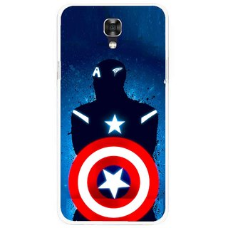 Snooky Printed America Sheild Mobile Back Cover For Lg X Screen - Multicolour