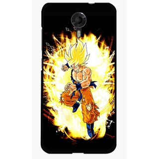 Snooky Printed Angry Man Mobile Back Cover For Micromax Canvas Xpress 2 E313 - Black