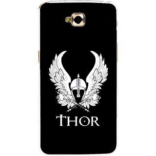 Snooky Printed The Thor Mobile Back Cover For Lg G Pro Lite - Black