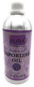 AuraDecor Ready to use Vapourizer Oil Lavender 1 ltr