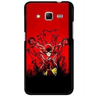 Snooky Printed Super Hero Mobile Back Cover For Samsung Galaxy Core Prime - Multicolour
