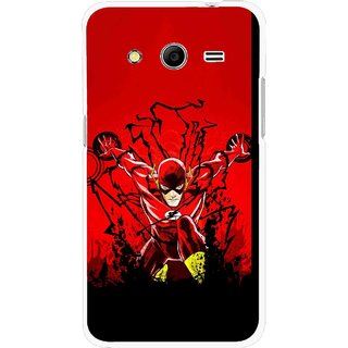 Snooky Printed Super Hero Mobile Back Cover For Samsung Galaxy G355 - Multicolour