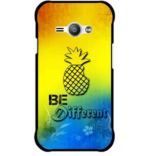 Snooky Printed Be Different Mobile Back Cover For Samsung Galaxy Ace J1 - Multicolour