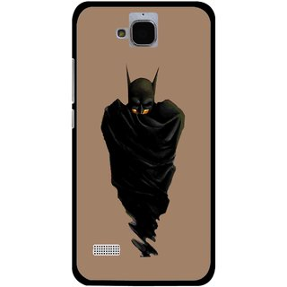 Snooky Printed Hiding Man Mobile Back Cover For Huawei Honor Holly - Brown