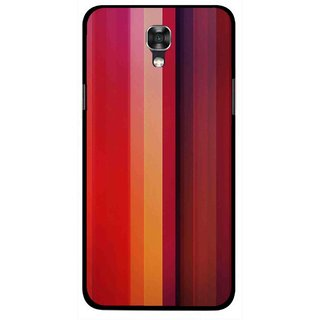 Snooky Printed Colorfull Stripes Mobile Back Cover For Lg X Screen - Multi