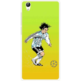 Snooky Printed Focus Ball Mobile Back Cover For Vivo Y51L - Multi