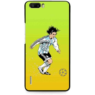 Snooky Printed Focus Ball Mobile Back Cover For Huawei Honor 6 Plus - Multi
