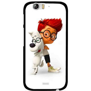 Snooky Printed My Friend Mobile Back Cover For Micromax Canvas Turbo A250 - Multi