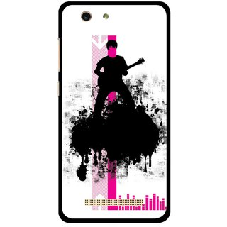 Snooky Printed Music In Air Mobile Back Cover For Gionee F103 pro - Multi