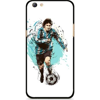 Snooky Printed Have To Win Mobile Back Cover For Oppo F3 plus - Multi
