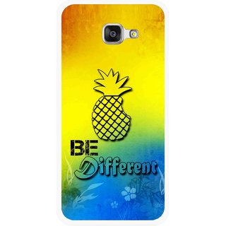 Snooky Printed Be Different Mobile Back Cover For Samsung Galaxy A3 (2016) - Multicolour
