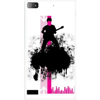 Snooky Printed Music In Air Mobile Back Cover For Blackberry Z3 - Multi