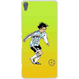 Snooky Printed Focus Ball Mobile Back Cover For Sony Xperia XA1 - Multi