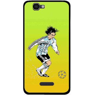 Snooky Printed Focus Ball Mobile Back Cover For Micromax Canvas 2 A120 - Multi