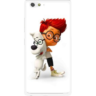 Snooky Printed My Friend Mobile Back Cover For Gionee Elife S6 - Multi