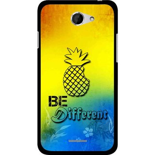 Snooky Printed Be Different Mobile Back Cover For HTC Desire 516 - Multicolour