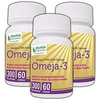 OMEGA3 (OMEJA-3) FATTY ACIDS CAPSULES 60's (COMBO PACK OF THREE)