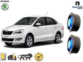 Skoda Rapid (old) Ground Clearance Kit (Fits : Below Rear Coil Springs) Set of 2 Pcs, Front not Required