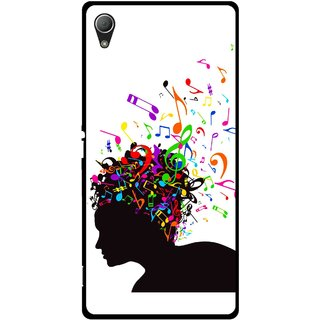 Snooky Printed Music Lover Mobile Back Cover For Sony Xperia Z3 - Multi