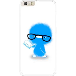Snooky Printed My Teacher Mobile Back Cover For Micromax Canvas Knight 2 E471 - Multi