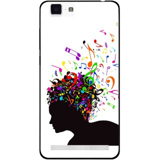 Snooky Printed Music Lover Mobile Back Cover For Vivo X5 Max - Multi