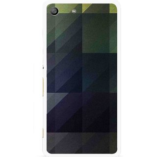 Snooky Printed Geomatric Shades Mobile Back Cover For Sony Xperia M5 - Multi