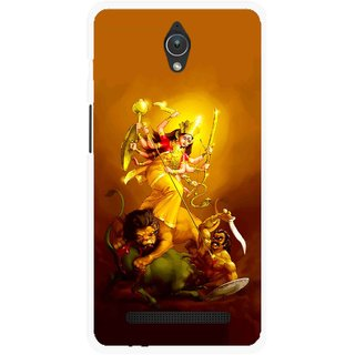 Snooky Printed Maa Durga Mobile Back Cover For Asus Zenfone C - Multicolour
