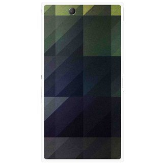 Snooky Printed Geomatric Shades Mobile Back Cover For Sony Xperia Z Ultra - Multi