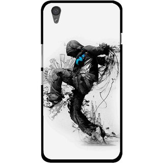 Snooky Printed Enjoying Life Mobile Back Cover For One Plus X - Multi