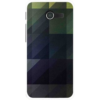 Snooky Printed Geomatric Shades Mobile Back Cover For Asus Zenfone 4 - Multi