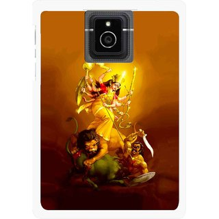 Snooky Printed Maa Durga Mobile Back Cover For Blackberry Passport - Multicolour