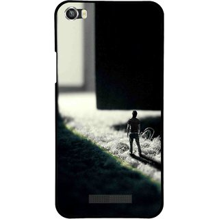 Snooky Printed God Door Mobile Back Cover For Lava Iris X8 - Multi