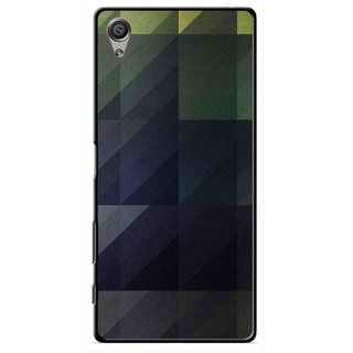 Snooky Printed Geomatric Shades Mobile Back Cover For Sony Xperia X - Multi