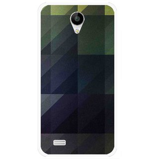 Snooky Printed Geomatric Shades Mobile Back Cover For Vivo Y22 - Multi