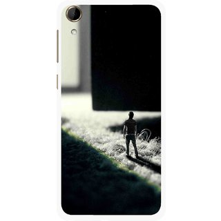 Snooky Printed God Door Mobile Back Cover For HTC Desire 728 - Multi
