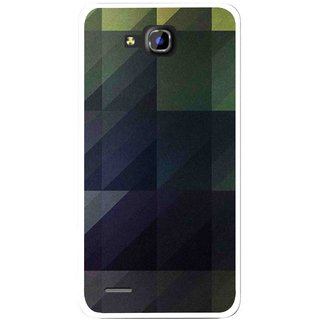 Snooky Printed Geomatric Shades Mobile Back Cover For Huawei Honor 3C - Multi