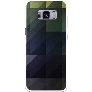 Snooky Printed Geomatric Shades Mobile Back Cover For Samsung Galaxy S8 - Multi