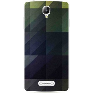 Snooky Printed Geomatric Shades Mobile Back Cover For Oppo Neo 3 R831k - Multi