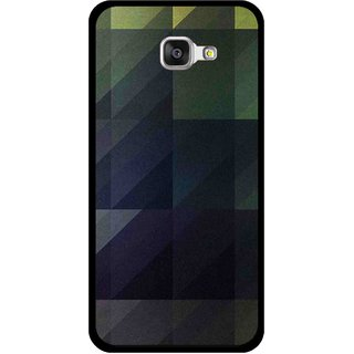 Snooky Printed Geomatric Shades Mobile Back Cover For Samsung Galaxy A3 (2016) - Multi