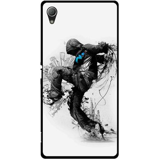 Snooky Printed Enjoying Life Mobile Back Cover For Sony Xperia Z3 - Multi