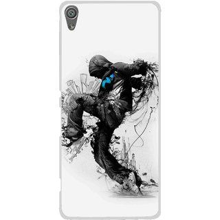 Snooky Printed Enjoying Life Mobile Back Cover For Sony Xperia XA1 - Multi