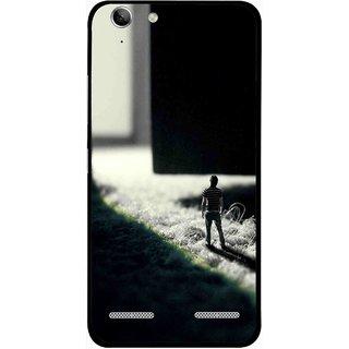 Snooky Printed God Door Mobile Back Cover For Lenovo Vibe K5 Plus - Multi
