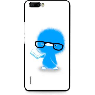 Snooky Printed My Teacher Mobile Back Cover For Huawei Honor 6 Plus - Multi