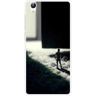 Snooky Printed God Door Mobile Back Cover For Vivo Y51L - Multi
