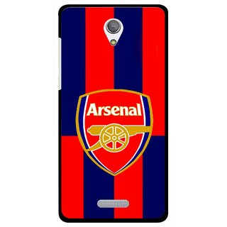 Snooky Printed Sports Logo Mobile Back Cover For Gionee Marathon M4 - Red